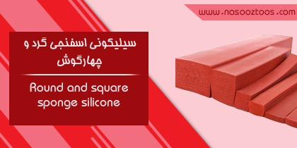 Round and square sponge silicone