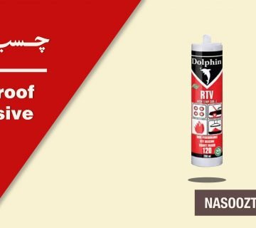 Fireproof adhesive